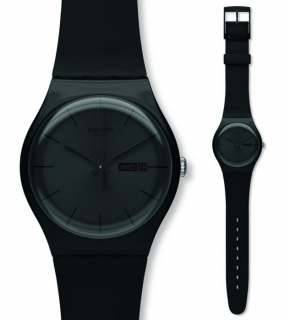Swatch New Gent Black Rebel SUOB702